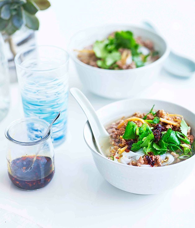 "[**Hunanese soup noodles**](https://www.gourmettraveller.com.au/recipes/fast-recipes/hunanese-soup-noodles-13272|target=""_blank"")"