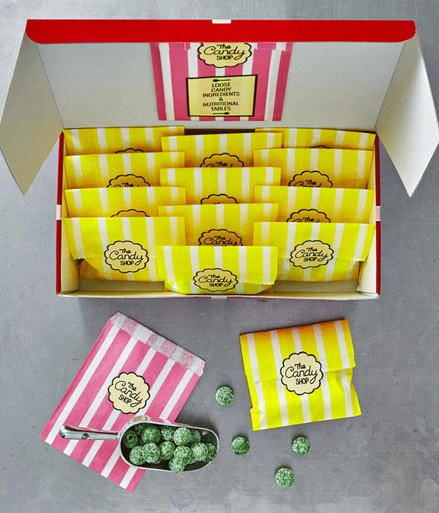 """**The Candy Shop's Retro Hamper** For the old-school sweet tooth, new online sweets retailer The Candy Shop has you covered with its Retro Hamper, from the Redskins, cola bottles and peppermint-patty classics to favourites from France, England and the US._$30\. [thecandyshop.com.au](http://www.thecandyshop.com.au/ """"The Candy Shop"""")_"""