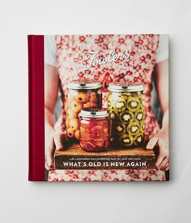 """**What's Old is New Again by Fowlers Vacola** Give a man a jar of pickles and he will eat for a day. Teach a man how to pickle and he will be pickling for a lifetime. _$39.95, hbk, Fowlers Vacola, [fowlersvacola.com.au](http://fowlersvacola.com.au/ """"Fowlers Vacola """")_"""