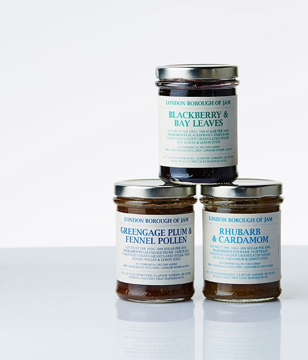 "**London Borough of Jam pack** And for the reveller spending Christmas in London, these remarkable, fruit-driven preserves from former St John pastry chef Lillie O'Brien are hard to go past. From leafy lemon and vanilla bean to raspberry and liquorice, the London Borough of Jam's gift pack is what Devonshire tea dreams are made of. LBJ products are stocked at the glam likes of Violet Cakes and Leila's Shop, but are also available online. _$34, [londonboroughofjam.com](http://londonboroughofjam.com/ ""London Borough of Jam"")_"