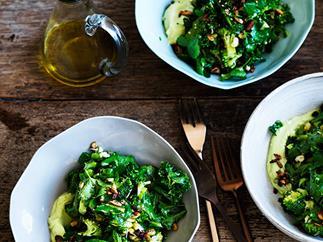 Ultra-green chopped salad