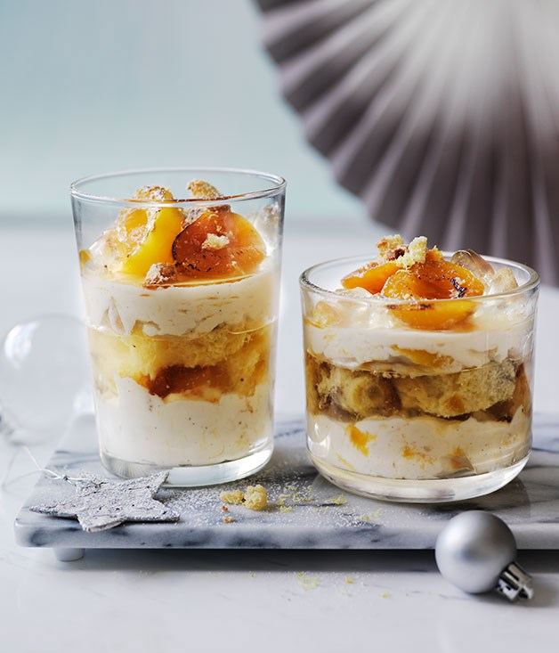 Panettone, Apricot And Mascarpone Trifle Recipe :: Gourmet
