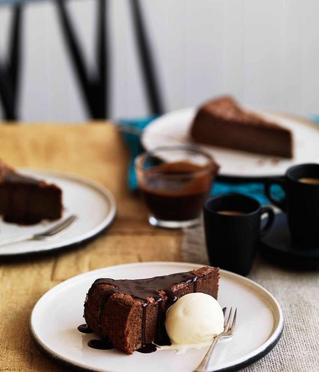 Chocolate Raspberry Layer Cake Gourmet Traveller