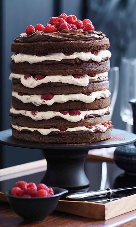 Venetian Layer Cake