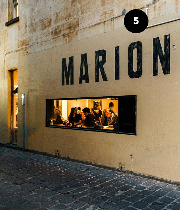 "**Marion Wine Bar, Melbourne** The wine comes first at Marion, the newest wine bar from chef and restaurateur Andrew McConnell. And as if the 14-page list were not enough, aficionados also have  access to the full cellar of Cutler & Co next door. Head chef Allan Eccles' menu presents many reasons to hoist a glass, too: sea urchin and finger lime prime the palate ahead of smart, unfussy main courses such as grilled rock flathead and smoked duck leg. Better still, Marion does killer breakfasts of a weekend. _[Marion Wine Bar](http://marionwine.com.au/ ""Marion Wine Bar""), 51-53 Gertrude St, Fitzroy, Vic, (03) 9419 6262_  Read our article on [Marion Wine Bar](http://www.gourmettraveller.com.au/restaurants/restaurant-news-features/2015/11/marion-wine-bar-melbourne/ ""Marion Wine Bar"")."