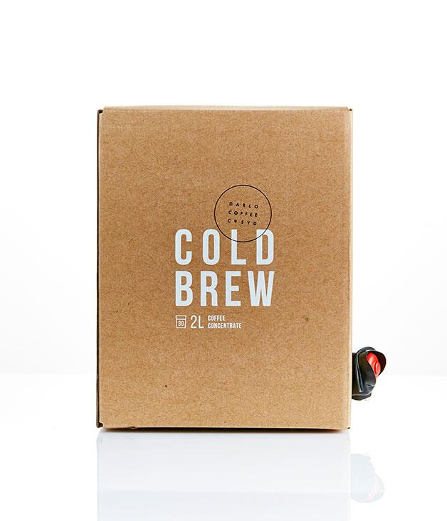 """**Darlo Coffee, Sydney** _Cold brew, $70 for two 2-litre boxes, [darlocoffee.com](https://www.darlocoffee.com/ """"Darlo Coffee"""")._"""