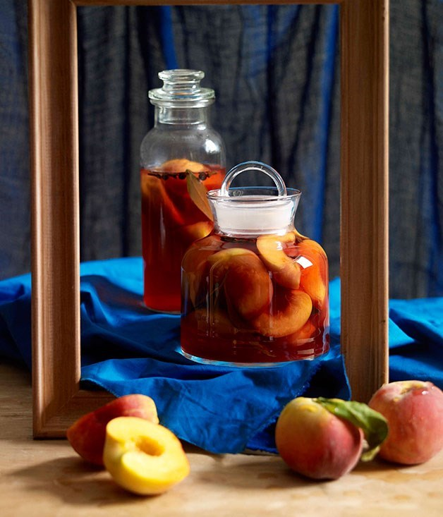 "[**Peach pickle**](https://www.gourmettraveller.com.au/recipes/browse-all/peach-pickle-10573|target=""_blank"")"