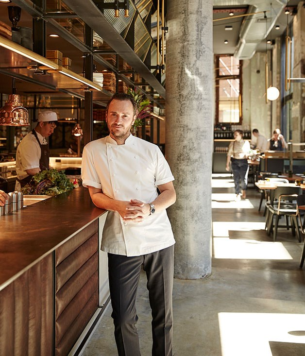 **** Chef Jason Atherton ready to rock'n'roll.