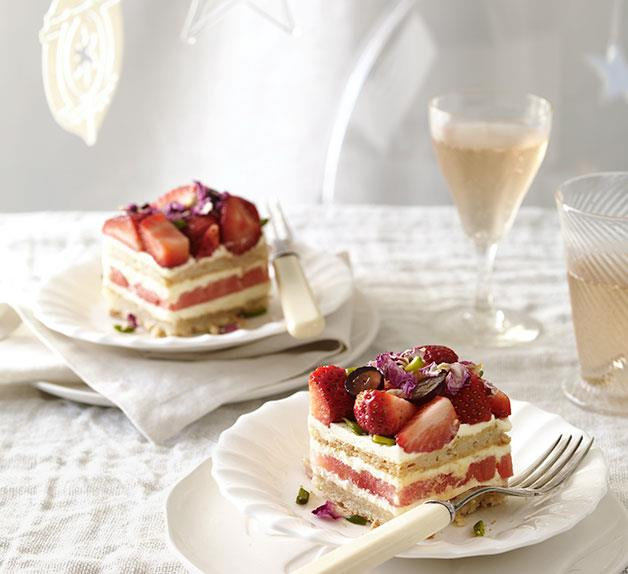 Sydney's cult sweets - watermelon and strawberry cake