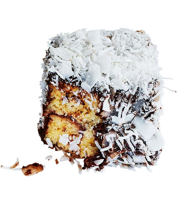 """**Flour and Stone lamingtons** Australia's favourite chocolatey, coconut-covered cake adorns bakery shelves throughout the country, and deviations from the standard recipe seldom produce superior results. Flour and Stone's take on the lamington, though, is the tastiest of exceptions: vanilla sponge soaked with panna cotta, layered with berry compote and coated with dark chocolate, and a snowy dusting of coconut flakes.   _[Flour and Stone](http://www.flourandstone.com.au """"Flour & Stone""""), 53 Riley St, Woolloomooloo, (02) 8068 8818_"""
