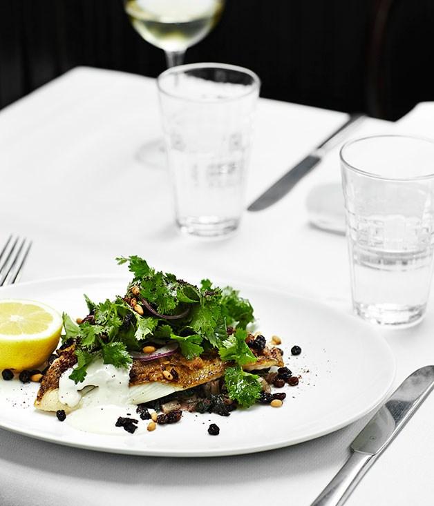 "**[Lebanese-style snapper](https://www.gourmettraveller.com.au/recipes/chefs-recipes/lebanese-style-snapper-8371|target=""_blank"")**"