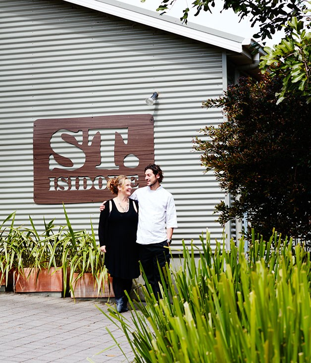 **Co-owners of St Isidore, Jo Thomas (left) and Alex Delly**