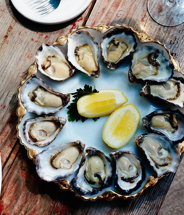 **Wapengo Rocks oysters at the Bermagui Oyster Room**