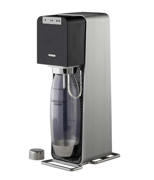 """**Source Sodastream** The latest [Source Sodastream](http://www.sodastream.com.au """"Sodastream"""") was designed by Swiss-born industrial designer Yves Behar and features three levels of fizz. Now's your chance to shake things up. _$199_"""
