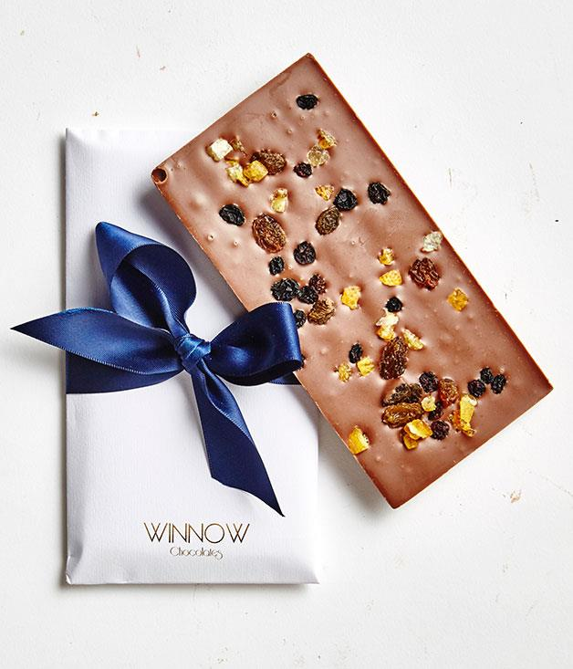 **Winnow Chocolates, NSW** Lost for words this Valentine's Day? Opt for an envelope of sweet nothings, instead. These shiny, hand-crafted bars, by chocolatier Amanda McKeith, are available in a range of flavours, including organic dark chocolate with blackberries, blueberries, strawberries and raspberries, and white chocolate with sweet dried cranberries, cinnamon, nutmeg and cloves. _Winnow Chocolates envelopes, $9.95 each, [winnowchocolates.com](http://www.winnowchocolates.com)_