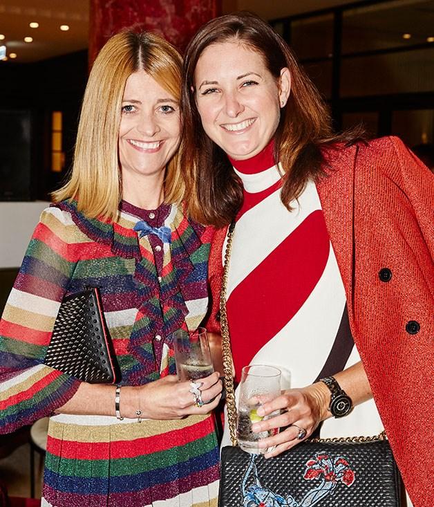 **** Editor of _Harper's BAZAAR_Kellie Hush and Dior's Kathleen Ryan.