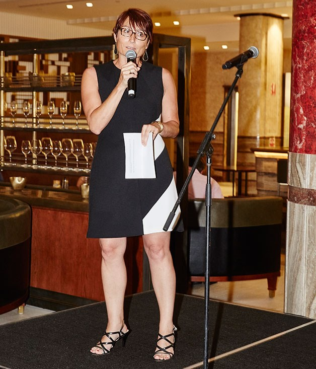 **** Bauer Media publisher Cornelia Schulze welcomed guests.