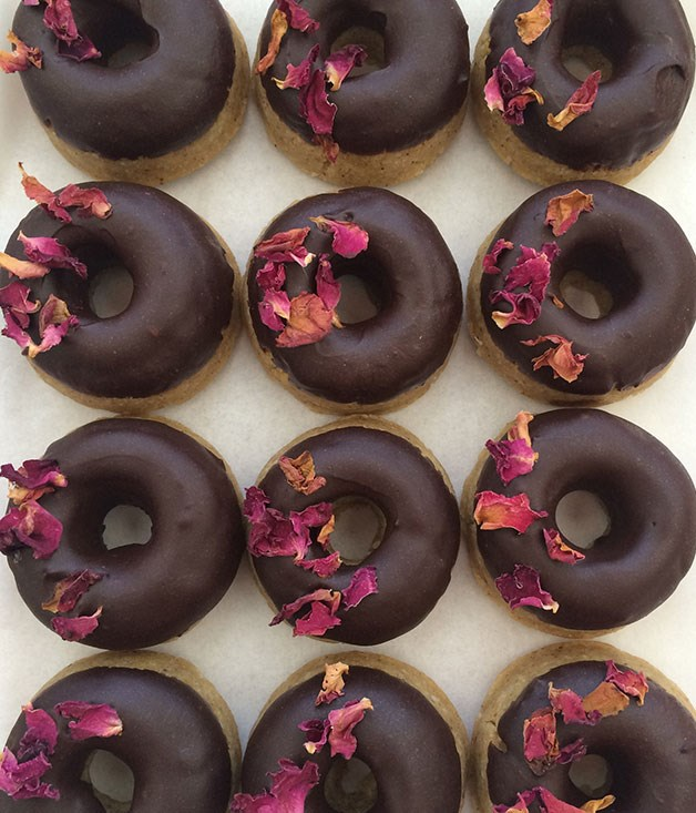 """**Pana Chocolate doughnuts** Take [doughnuts](http://www.panachocolate.com """"Pana Chocolate""""). Add lemon. Plus chocolate glaze. Multiply by six, and you've got love at first bite. _Six per pack,_ _$18.90_"""
