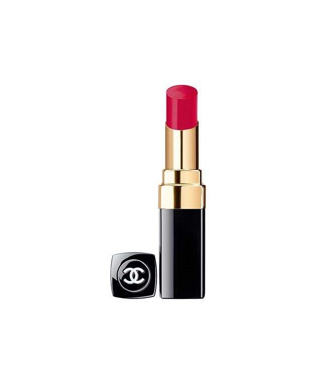 "**Chanel Rouge Coco Shine Hydrating Colour Lipshine** The hydrating formula of Chanel's latest [lipstick](http://www.chanel.com/en_US/fragrance-beauty/makeup-lipstick-rouge-coco-shine-119570/sku/140223 ""Chanel"") not only deeply moisturises lips it also gives you a fuller pout with vibrant colour and shine. Our pick of the Los Angeles-inspired range is ""Energy"", for obvious reasons. Now pucker up. _$37_"