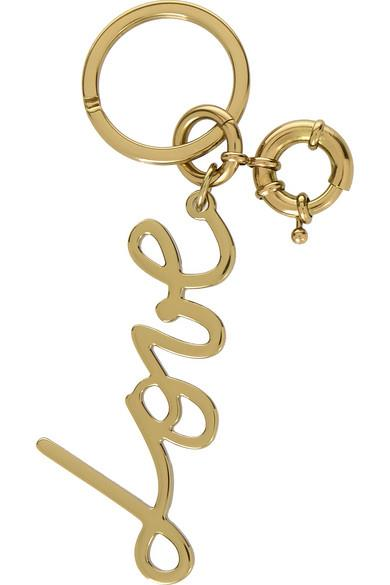 """**Lanvin """"Love"""" gold-tone keychain** One for the fashion-loving Valentine, [Lanvin's """"Love"""" keychain](https://www.net-a-porter.com/au/en/product/640695/Lanvin/love-gold-tone-keychain """"Lanvin"""") will make a luxe statement hanging from your lady's leather tote. _$243_"""