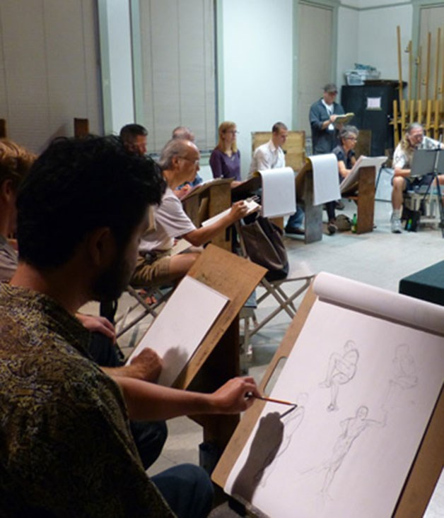 "**Life art class** Learn to contour and tone the human figure from an artist's perspective. You and your Valentine can tap into your creative sides at an intimate life-drawing class. [_the-art-room.com.au_](http://the-art-room.com.au/ ""The Art Room"")"