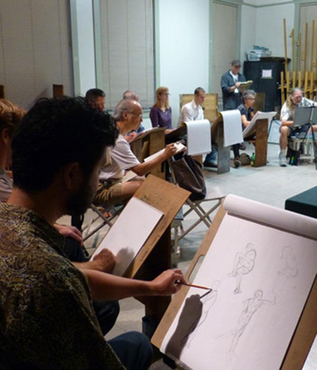 """**Life art class** Learn to contour and tone the human figure from an artist's perspective. You and your Valentine can tap into your creative sides at an intimate life-drawing class. [_the-art-room.com.au_](http://the-art-room.com.au/ """"The Art Room"""")"""