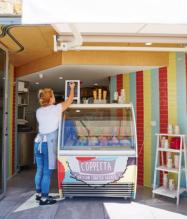 "**Coppetta, Vaucluse** This hole-in-the-wall gelateria is on Old South Head Road. Flavours include gingerbread, Turkish delight, toasted marshmallow and pistachio and rosewater. _[coppetta.com.au](http://www.coppetta.com.au/ ""Coppetta"")_"