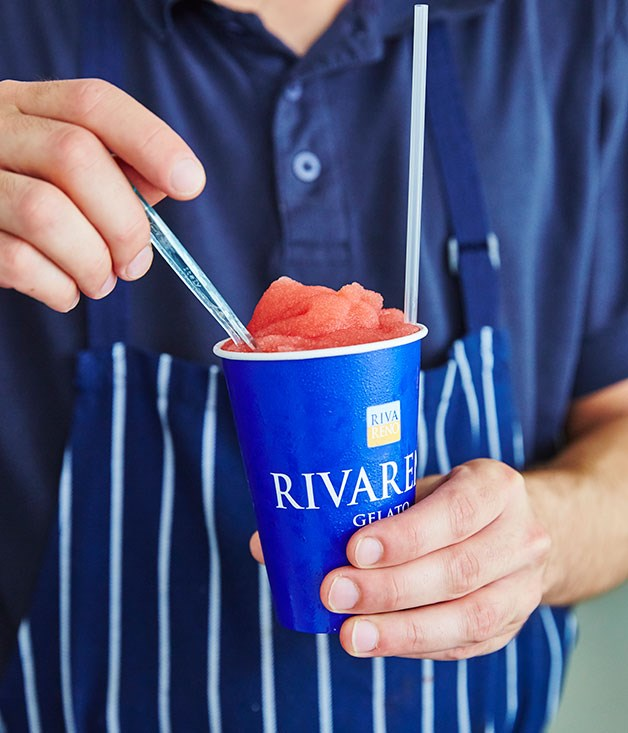 "**RivaReno, Surry Hills** Alongside gelato, RivaReno is also popular for its range of Sicilian granita including  Pompelmo Rosa (pink grapefruit), Mandorla Sicilana (Sicilian almond) and this Arancia Rossa (Sicilian blood orange). _[rivareno.com.au](http://rivareno.com.au/ ""RivaReno Gelato"")_"