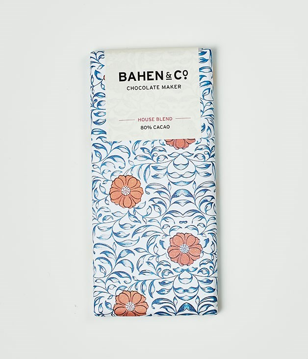 "**Bahen & Co** 80% Cacao House Blend, $9.90 for 75gm   _[bahenchocolate.com](http://www.bahenchocolate.com/ ""Bahen & Co"")_"