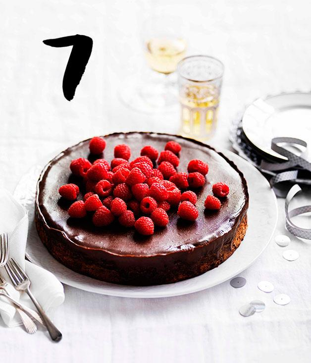 Chocolate Mud Cake With Raspberry Filling Recipe