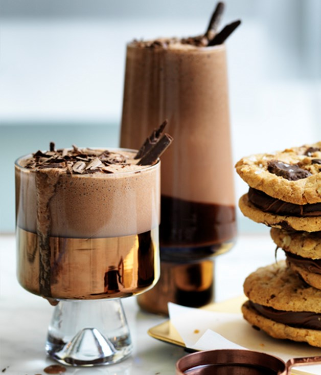 Super-chocolate milkshake