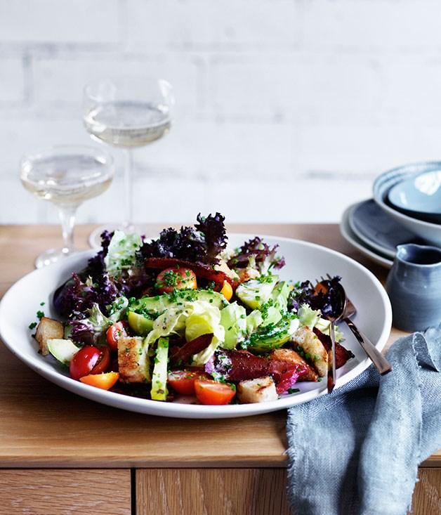 BLAT Salad Recipe :: Gourmet Traveller