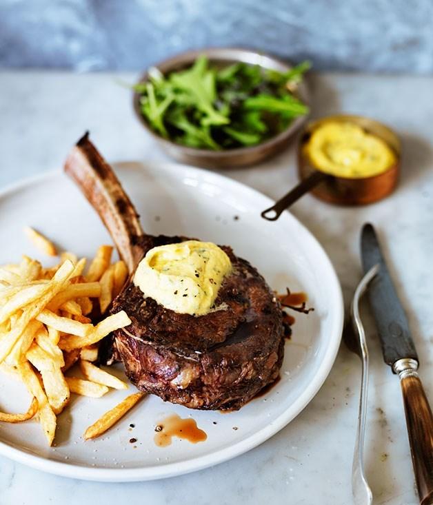 "[**Côte de boeuf**](https://www.gourmettraveller.com.au/recipes/browse-all/cote-de-boeuf-12341|target=""_blank"")"