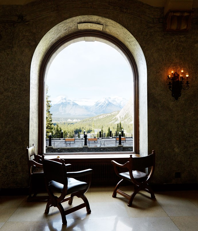 **The view from Fairmont Banff Springs**