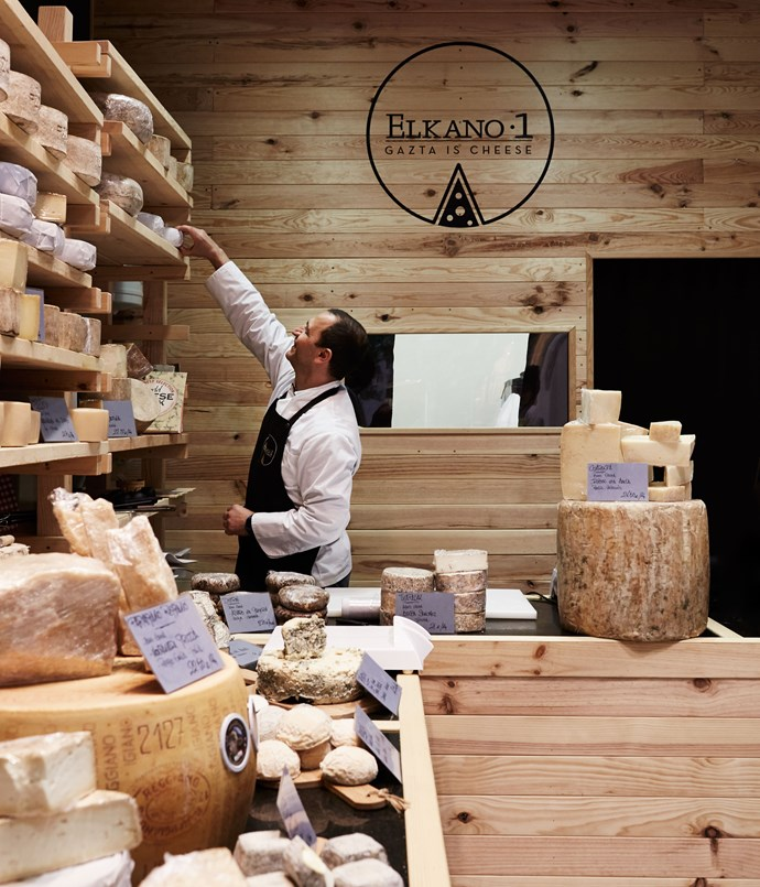 "**Gaztagune Elkano 1** This shop is run by a local cheesemaker who's in business with an Italian expat, so there's a nice blend here of beautifully handmade local cheeses and some of the softer varieties of cheese from just across the border in France, and he's got the best Parmigiano-Reggiano he can find in Italy. The joy of the shop is mostly the sheep's milk semi-hard cheeses that he makes himself. They're phenomenal delights. And if you want to try any of the other cheeses that the Basque country is known for, they're all here. It's the Neal's Yard Dairy of San Sebastián - everything chosen with care, everything in peak condition.     _Calle Elkano 1, [elkano1.com](/<a href=""http:/elkano1.com/"" rel=""nofollow""> elkano1.com</a>)_"