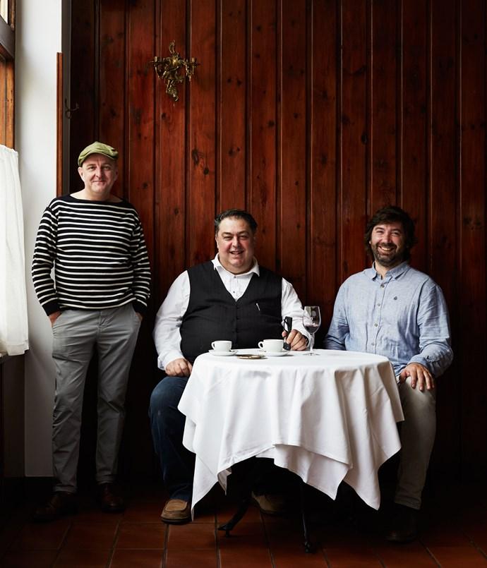**Gerald Diffey (left), Mario Di Ienno and Carlos Belío**