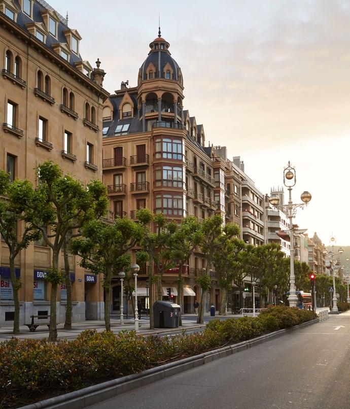 **A street near the city hall**