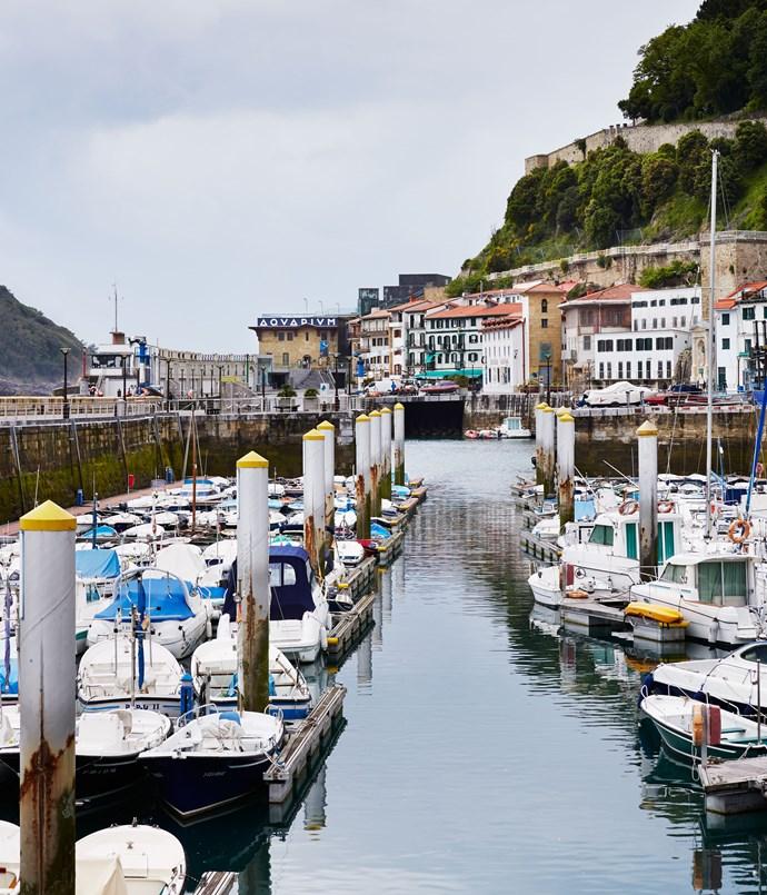 **San Sebastián harbour**