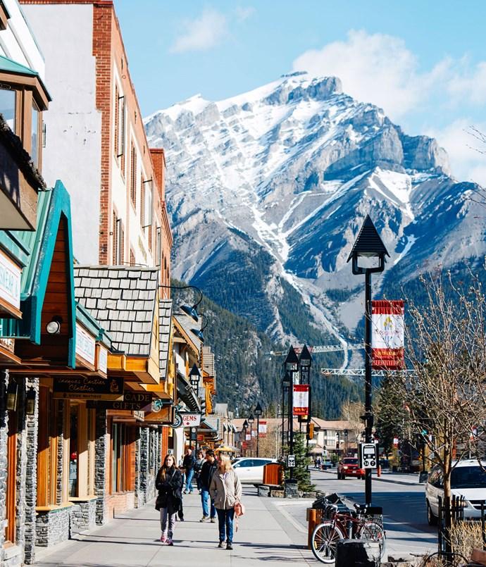 **Downtown Banff**