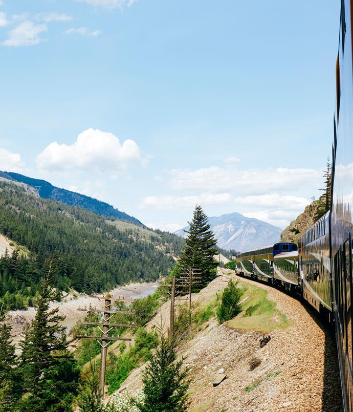 **En route from Vancouver to Kamloops**