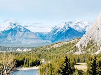A journey by train through the Canadian Rockies