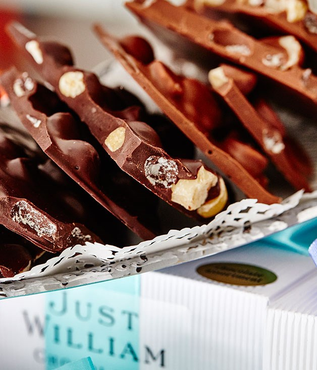 **Just William Chocolates, Paddington** Slabs of white, milk or dark chocolate with added hazelnutty crunch. _[http://justwilliam.com.au/](http://justwilliam.com.au/)_