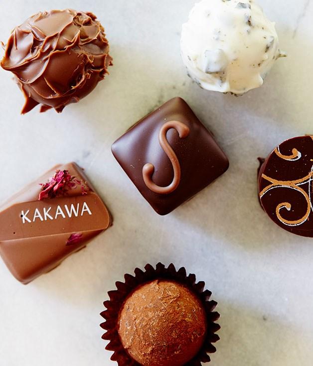 **Kakawa, Darlinghurst** Beautiful Kakawa chocolate truffles handmade on site. [http://kakawachocolates.com.au/](http://kakawachocolates.com.au/)