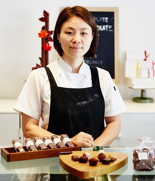 **Kakawa, Darlinghurst** Kakawa chocolatier and pastry chef Jin Sun Kim worked under Swiss-trained master chocolatier Keith Hurdman at Melt in London's Notting Hill. [http://kakawachocolates.com.au/](http://kakawachocolates.com.au/)