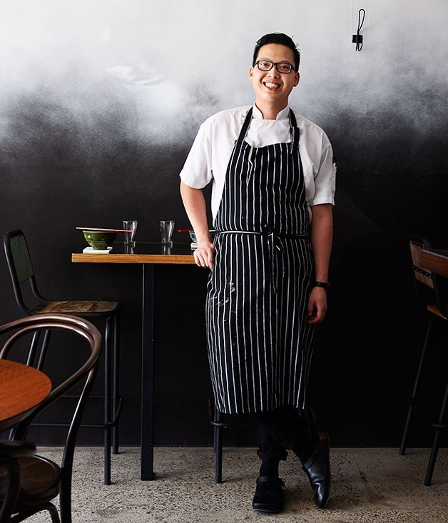 **Victor Liong at Lawyers, Guns and Money** The owners of Melbourne's [Lee Ho Fook](http://www.gourmettraveller.com.au/restaurants/restaurant-reviews/2014/2/lee-ho-fook-melbourne/) have opened Asian café Lawyers, Guns and Money on Little Collins Street, serving modern spins on the food chef Victor Liong grew up eating for breakfast. Right now that translates to congee, or honeycomb tripe with pig's ears, braised and served with pickled white cabbage, hot mustard and chilli oil.