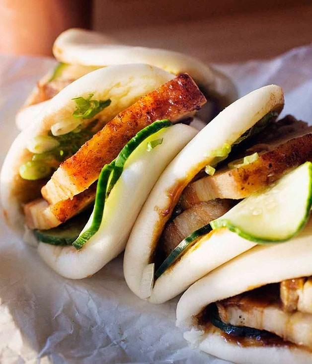 **Momofuku's steamed buns**