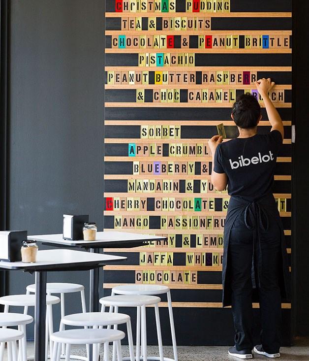 **Bibelot, South Melbourne** A choc-rich menu at Bibelot.  [bibelot.com.au](http://www.bibelot.com.au/)