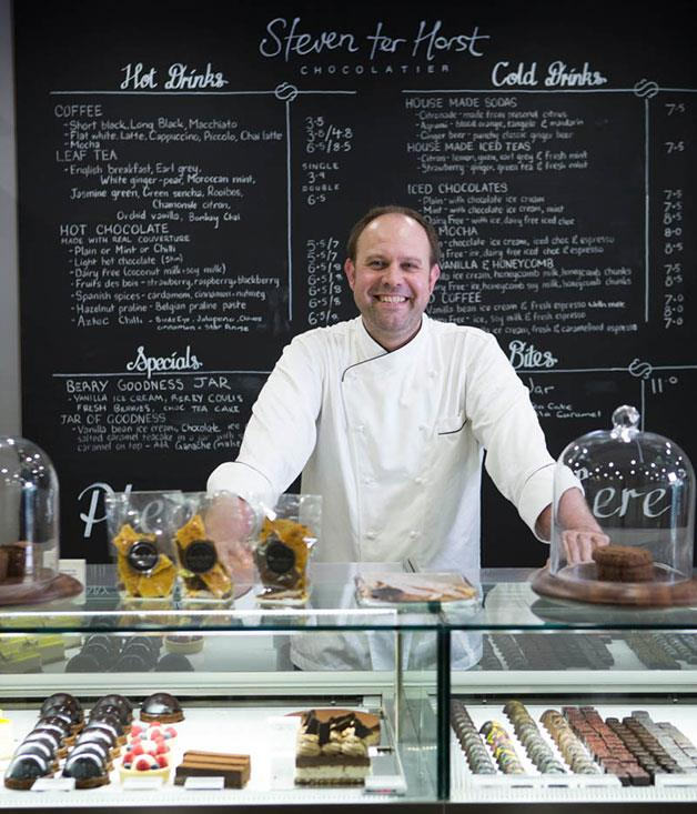**Steven Ter Horst, Adelaide** Friends thought Steven ter Horst was mad when he spent 2006 trying to perfect salted caramel. Since then his outstanding fleur de sel truffles have propelled the popularity of his handmade chocolates and tasting café in Adelaide's Rundle Street. [steventerhorst.com.au](http://www.steventerhorst.com.au/)