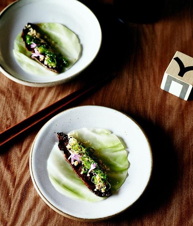 **Eun Hee Wan's MARINATED BEEF CABBAGE WRAPS (BULGOGI SSÄM)** Eun Hee Wan together with her partner Ben Sears, runs the kitchen at [Moon Park](http://www.gourmettraveller.com.au/restaurants/restaurant-reviews/2014/3/moon-park-and-danjee-sydney/)in Sydney's Redfern. Her Korean heritage heavily influences her cooking style.