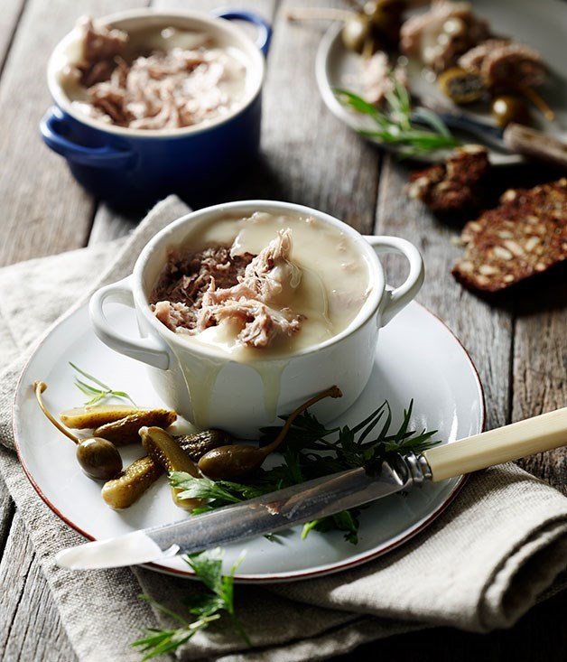 **Duck rillettes**